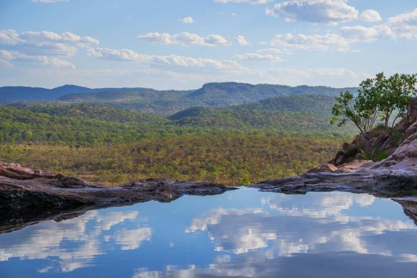 Gunlom Plunge Pool (Austrálie)
