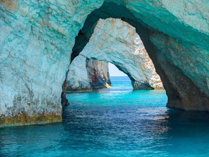 Modré jaskyne, Zakynthos
