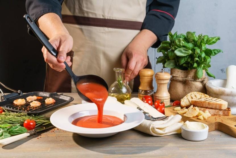 Príprava gazpacho