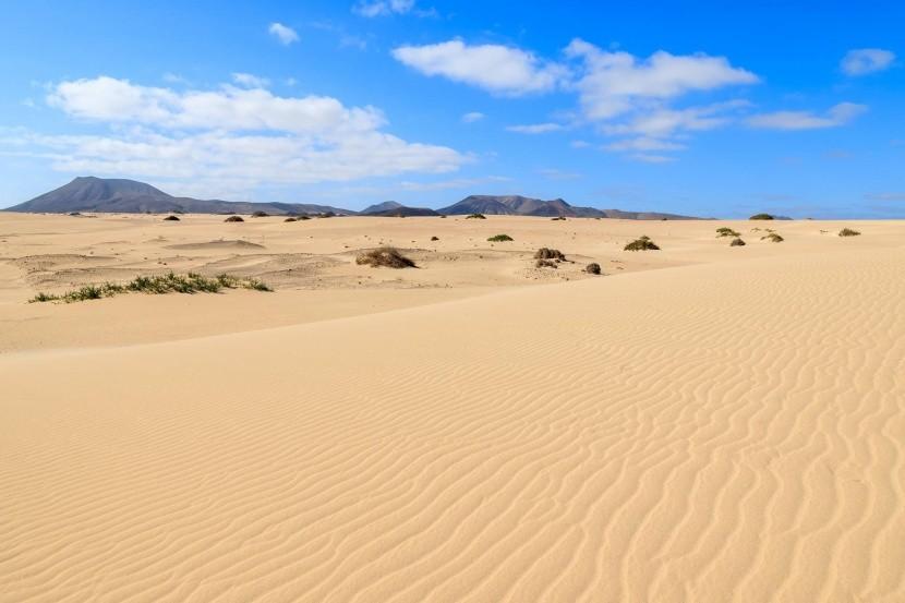 Pláž a duny Corralejo, Fuerteventura