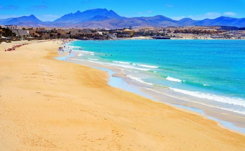 Pláž Esmeralda, Fuerteventura