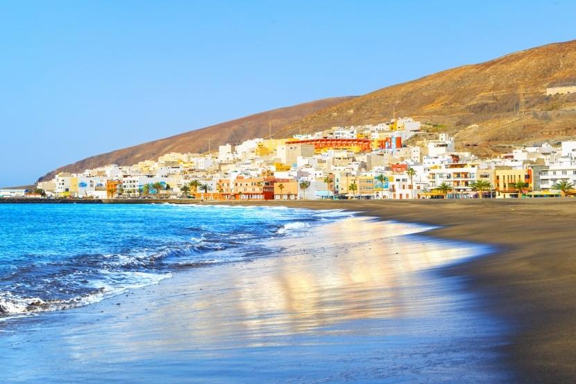 Pláž Gran Tarajal, Fuerteventura