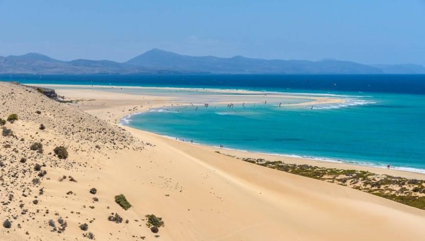 Pláž Sotavento, Fuerteventura