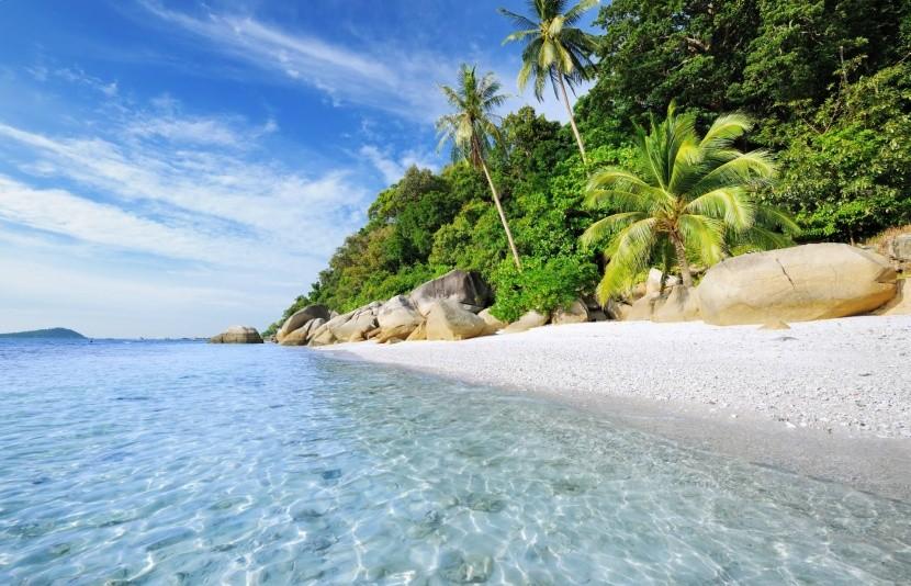 Pláže v Malajzii