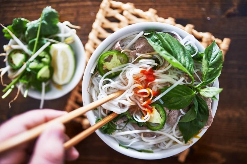 Vietnamská polievka Pho