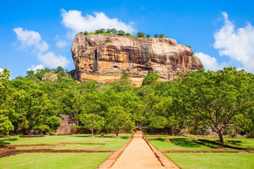 Sigiriya - symbol Srí Lanky