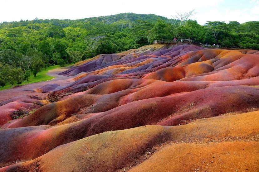 Chamarel - sedem farebnej krajiny