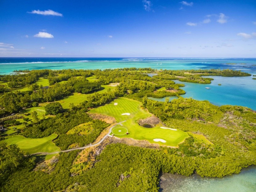 Golfové ihrisko na Mauríciu