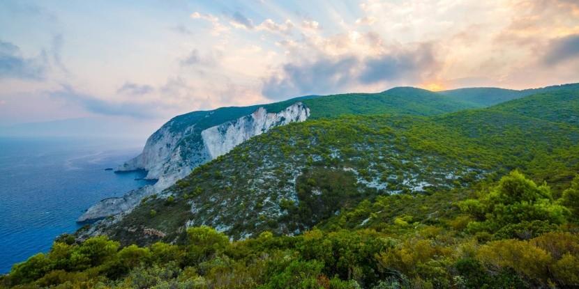 Príroda Zakynthosu láká na turistiku