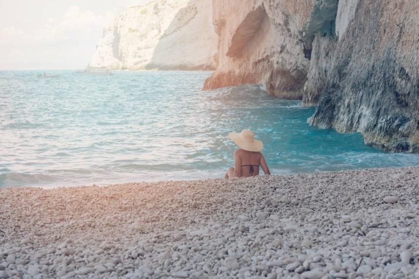 Kamienky pláže Navagio