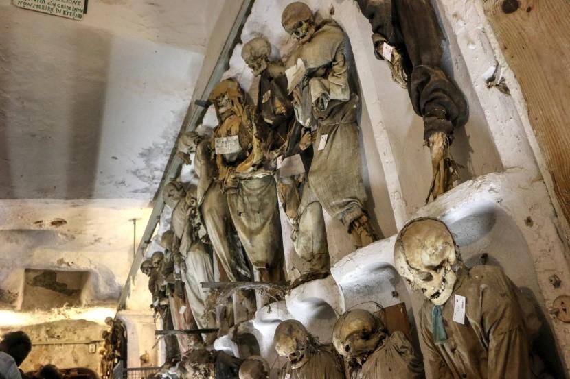 Kapucínské katakomby v Palermu