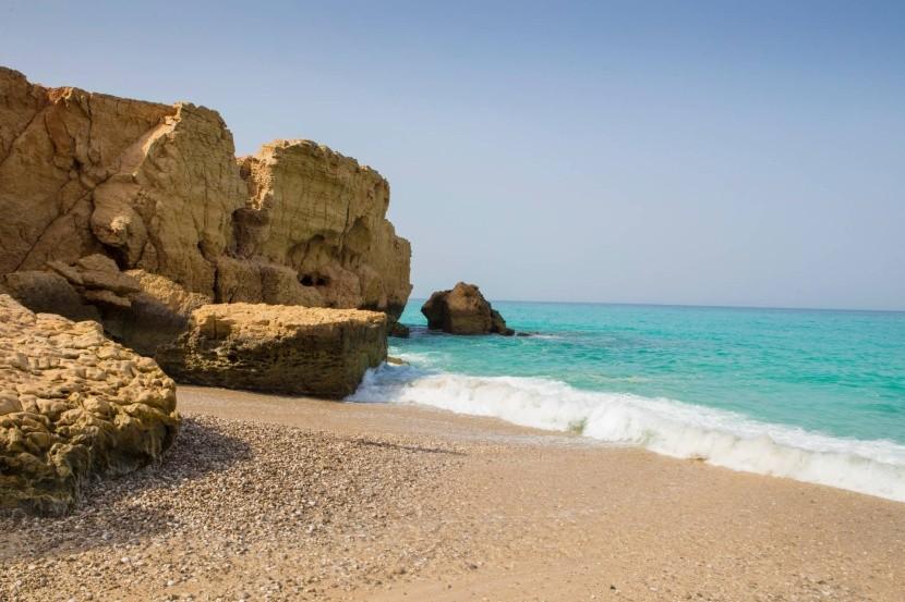 Pláž Tiwi, Omán