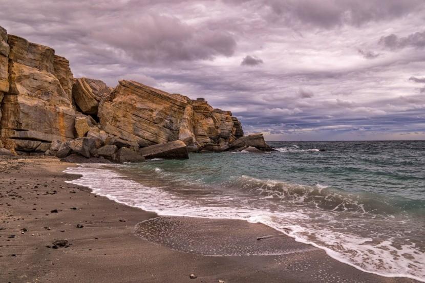 Pláž Bassa, Chasab, Omán
