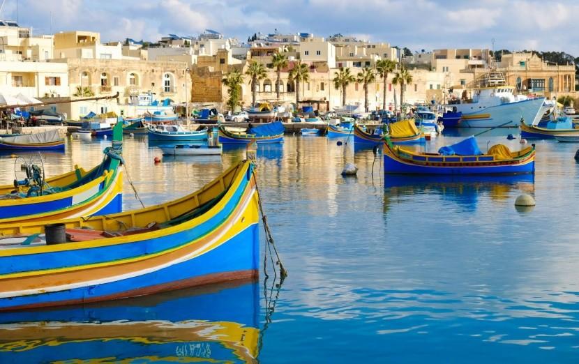 Prístav Marsaxlokk, Malta