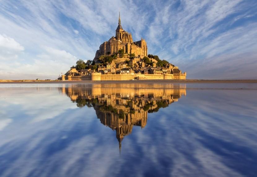 Mont Saint Michel (Francúzsko)
