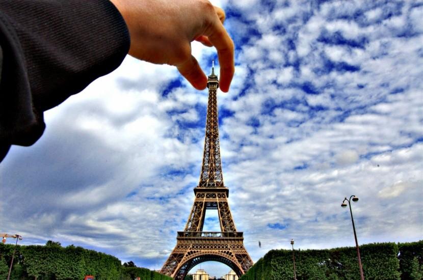 Uchopte Eiffelovu vežu