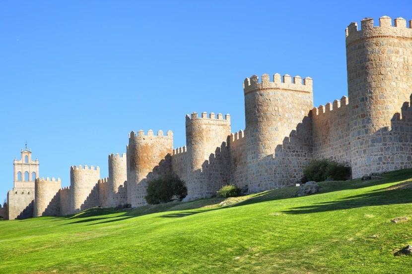 Mestské hradby v Ávile