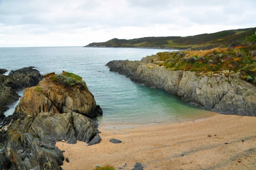 Barricane Beach, Devon, Anglicko