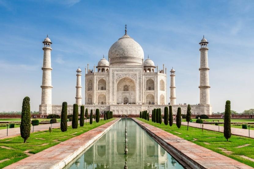 Tádž Mahál, India