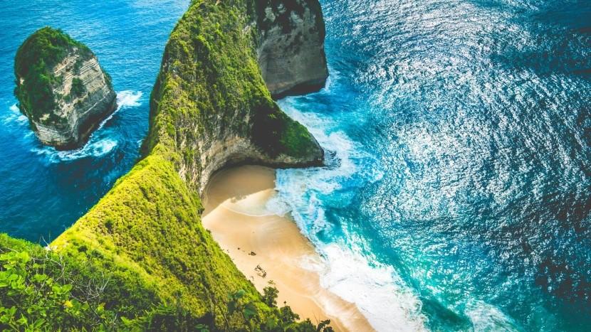 Pláž Kelingking, Bali