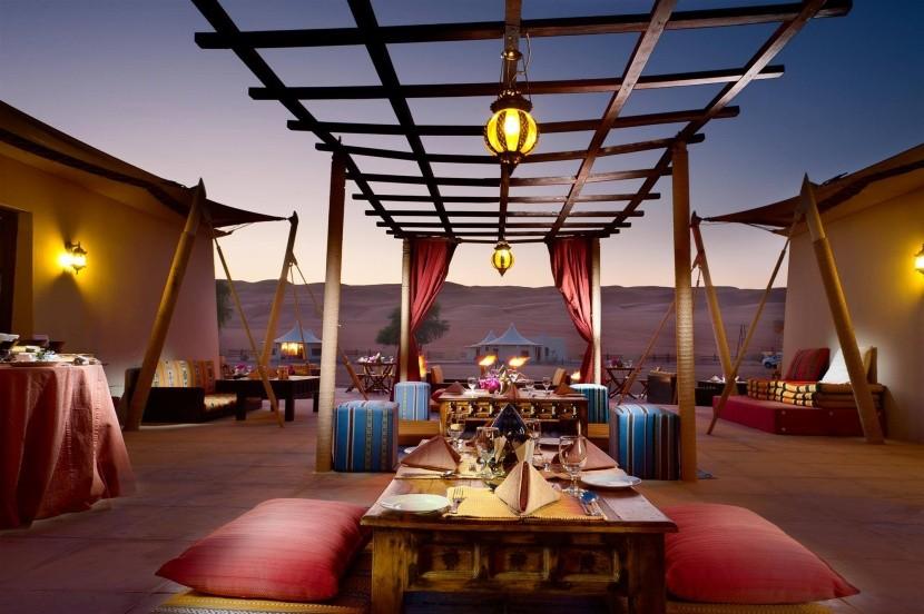 Desert Nights Camp - jedálna časť