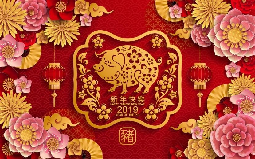 2019 - čínsky rok prasaťa