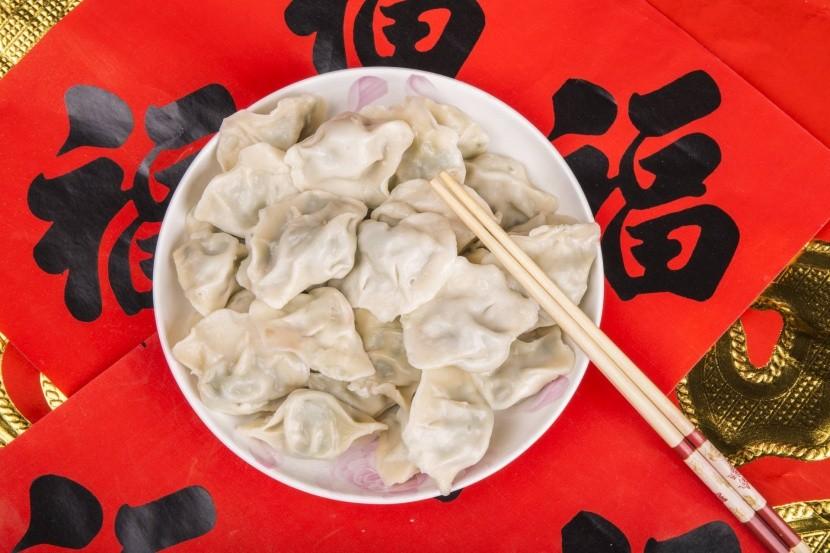 Čínske novoročné knedlíčky