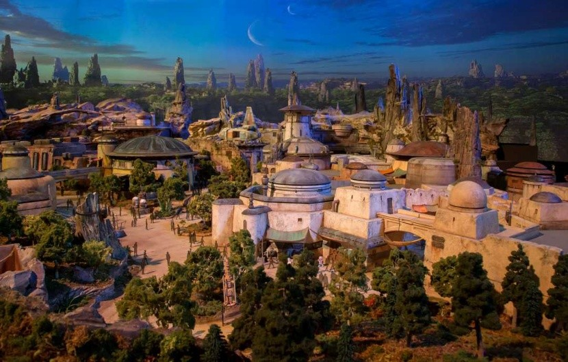 Star Wars v Disneylande