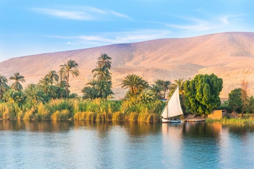 Egypt - plavba po Níle