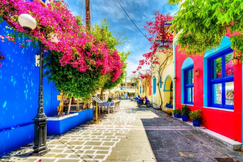 Prvé slnečné lúče v Grécku