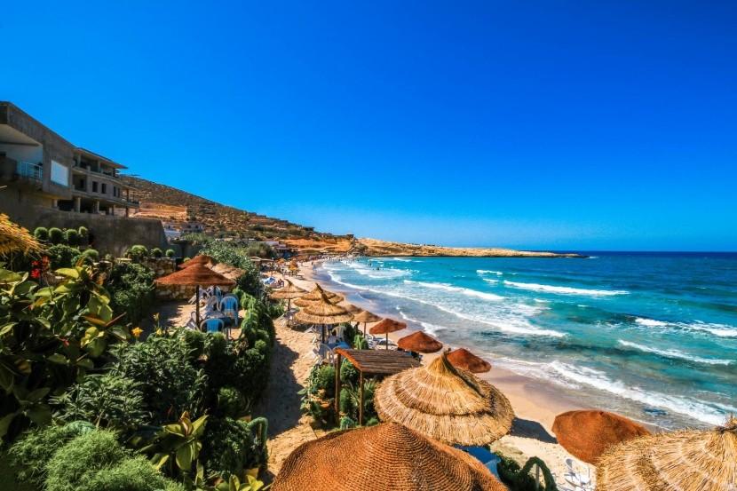 Pozdrav slnku na dovolenke v Tunisku