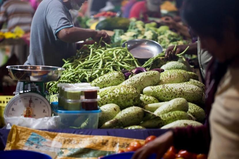 Zeleninový trh na Mauríciu