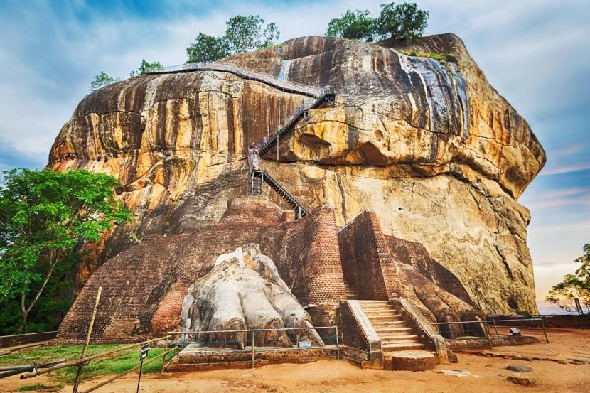 Sigiriya - posledný úsek cesty