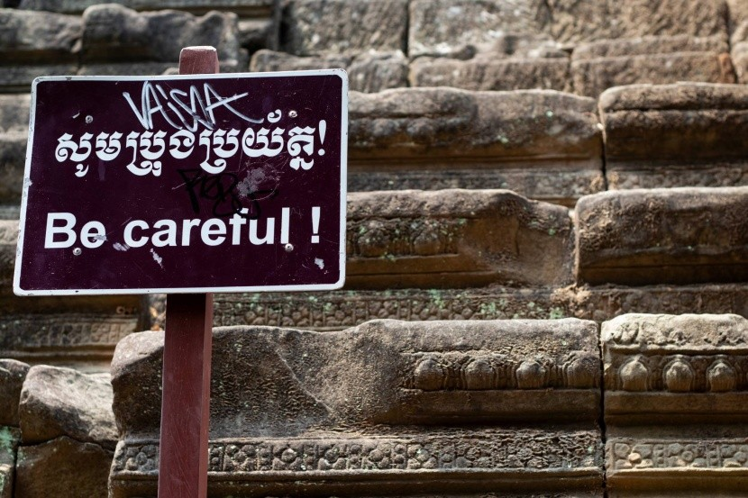 Schodisko v Angkor Wat
