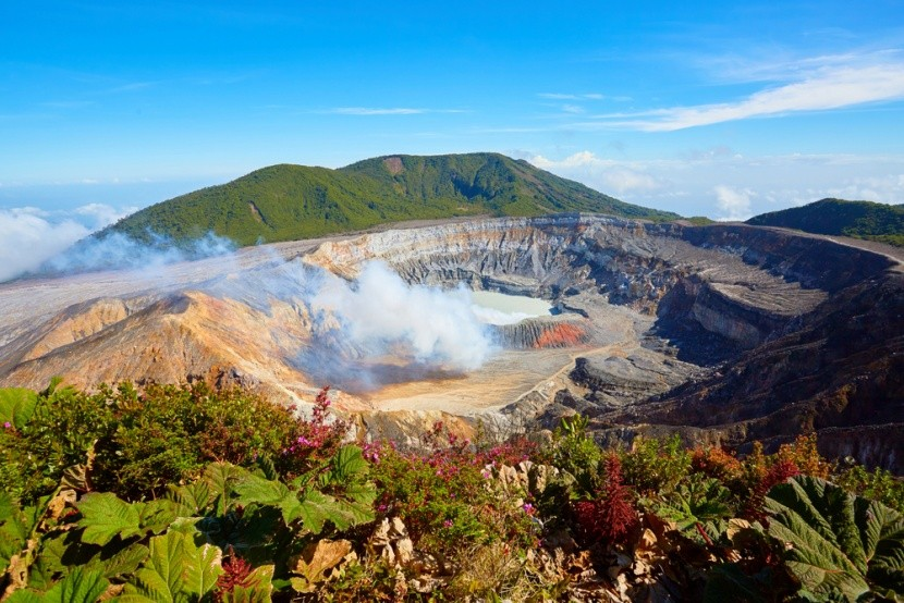 Sopka Poás, Kostarika
