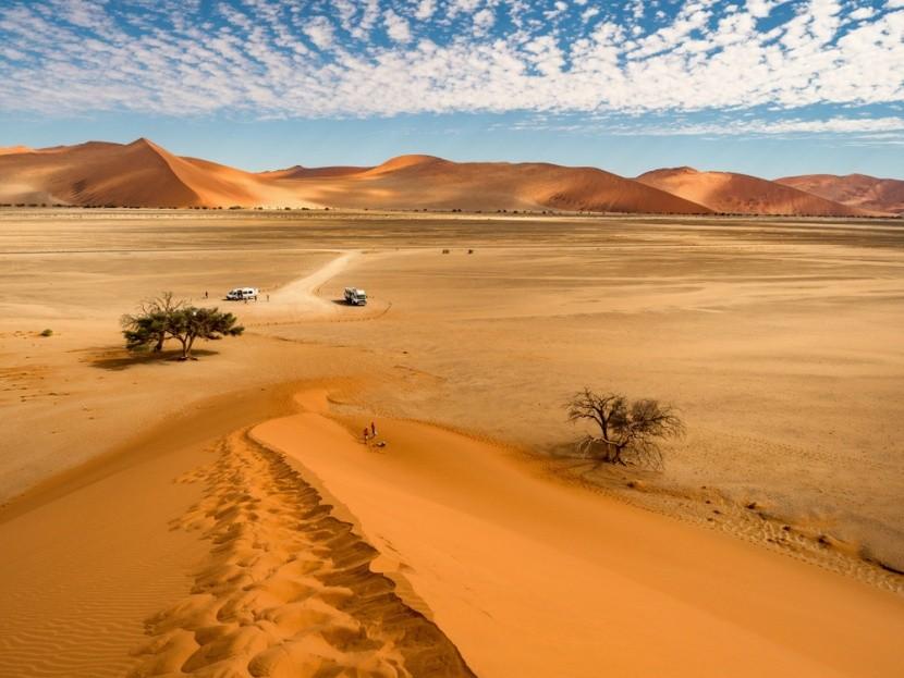 Pieskové duny Sossusvlei