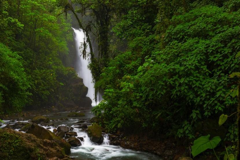 Vodopád La Paz v Kostarike