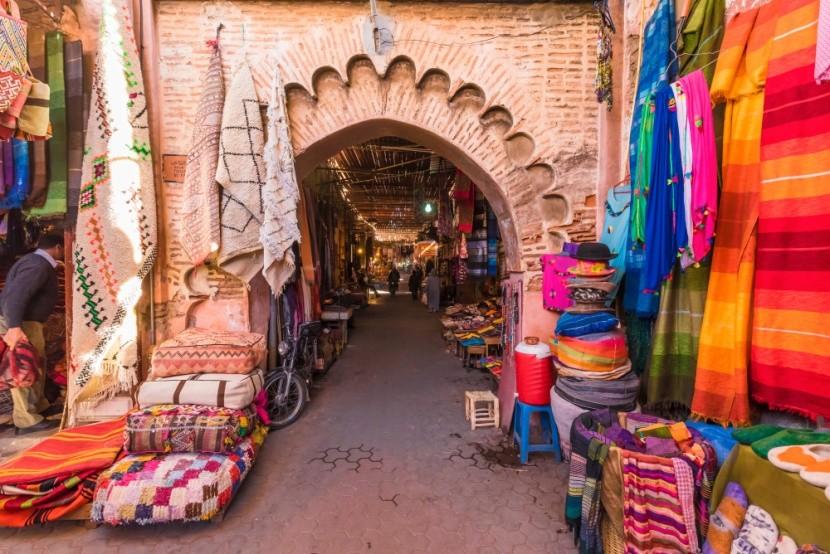 Trhy v Marákeši sú farebné a voňavé