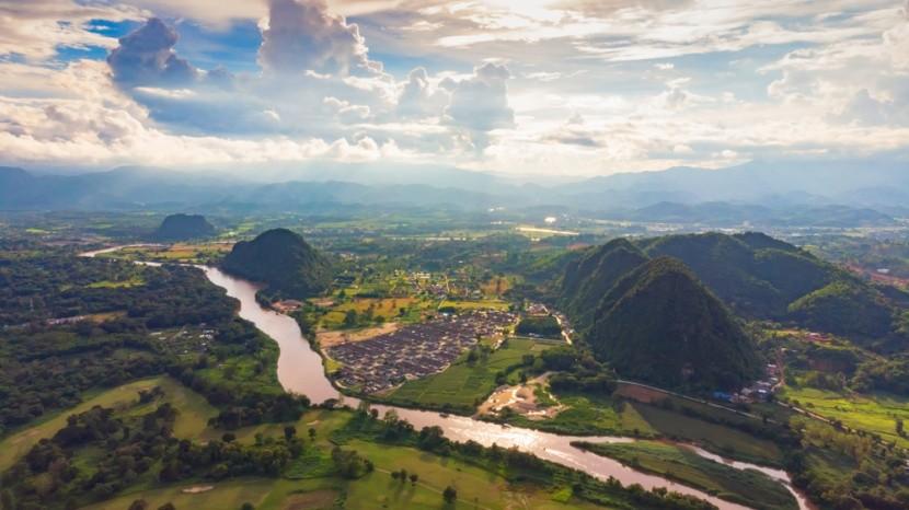 Chiang Rai v severnom Thajsku