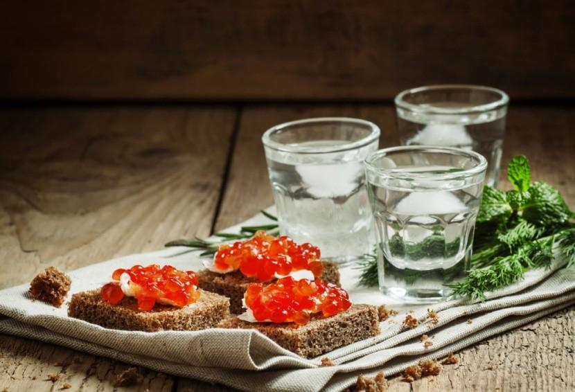 Vodka a kaviár