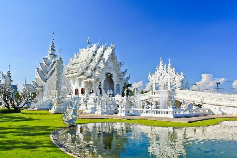Wat Rong Khun: Biely chrám v Thajsku