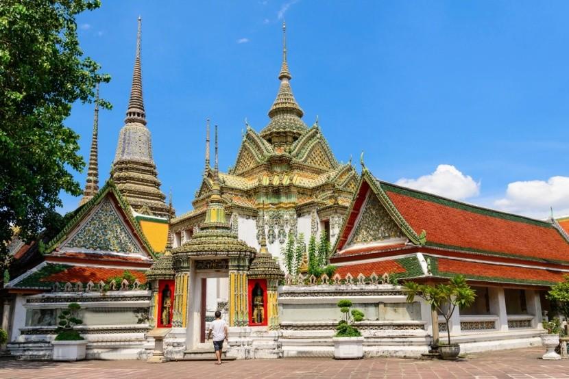 Wat Pho: Chrám ležiaceho Budhu