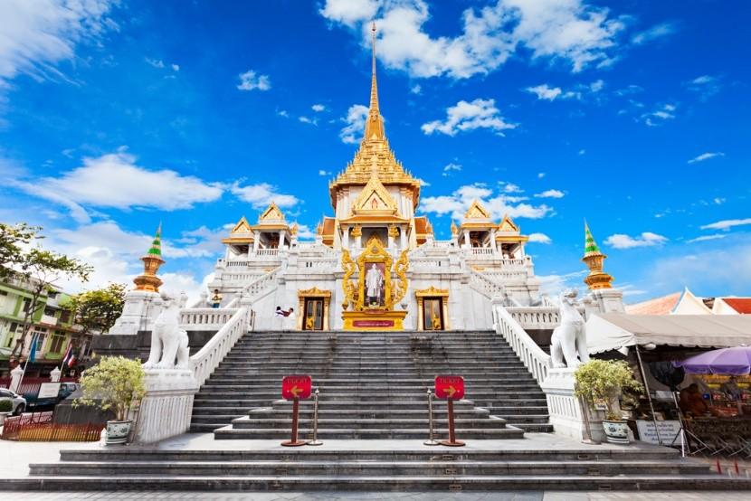 Wat Traimit: Chrám zlatého Budhu