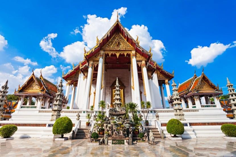Wat Suthat: Chrám obrovskej hojdačky