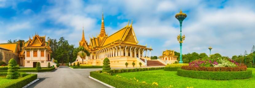 Palác v Phnompenh