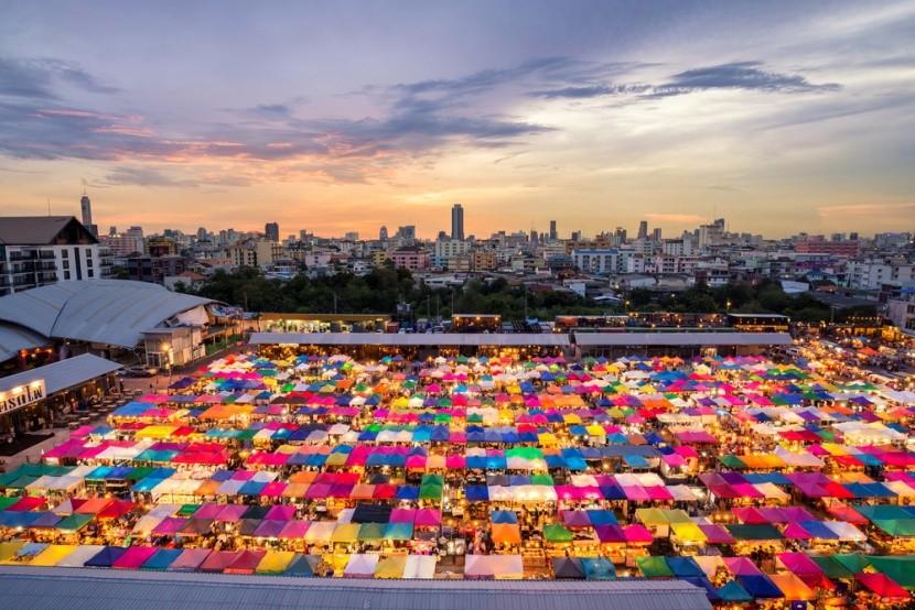 Víkendový trh Chatuchak