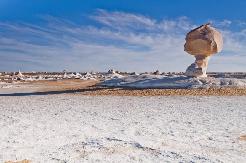 Biela púšť, Egypt