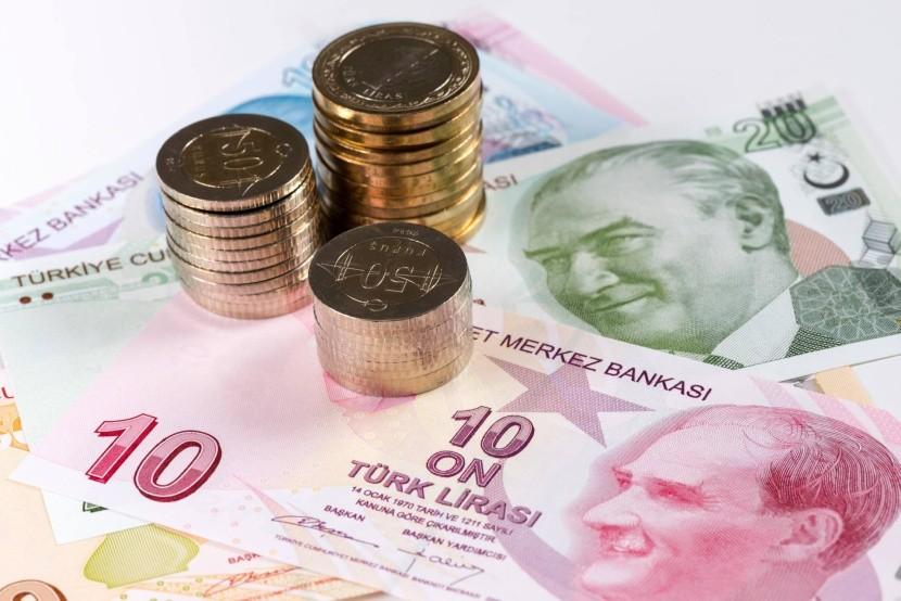 Turecká líra - bankovky a mince