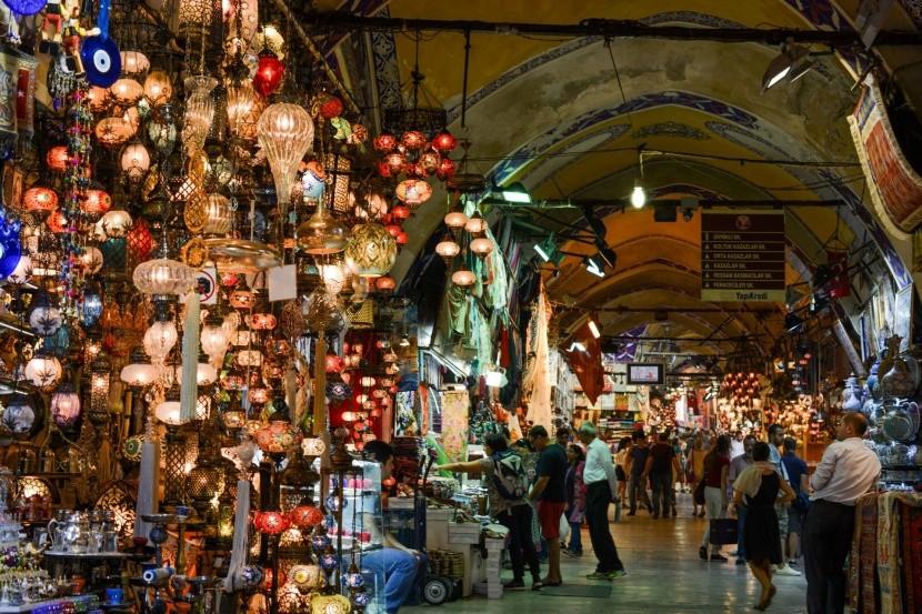 Grand Bazaar v Istanbule