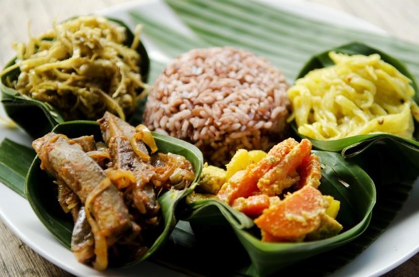 Indonézske curry s ryžou
